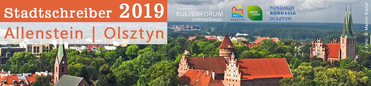 Stadtschreiber Allenstein/Olsztyn 2019